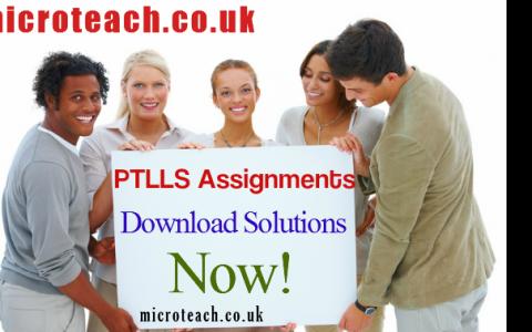 PTLLS Assignments